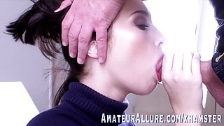 Malory Malibu is excited for her very first cock