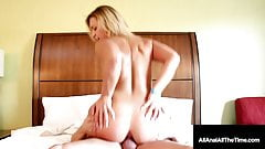 Dirty Blonde Cutie Kelsi Monroe Ass Pounded As Cheeks Flap!