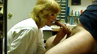 Blowjob Buddy Sucks, Licks and finishes me with her hand.