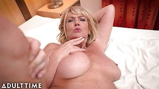 ADULT TIME – Big Titted Gilf Gets Fucked By A Lucky Stud