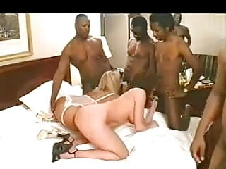 Mad orgy party - Interracial orgy party