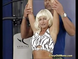 Old gay muscle Muscle mom sex