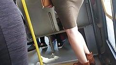 Hot Milf Ass in Skirt - 3