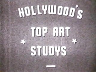 Art vintage Hollywood top art studys
