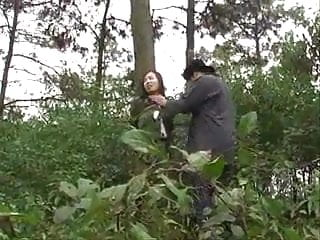 Asian in the military Chinese army girl tied to tree 1