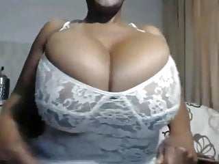 Etremely large and oily boobs - Huge boobs oily