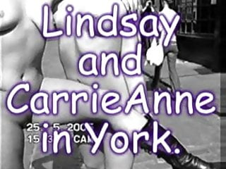 Lindsay nude in new york magazine - British lindsay and carrie anne nip nude in public