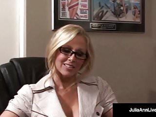 Julia ann blowjob Office milf julia ann sucks cock gets hot sticky facial
