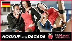 German MILF DaCada enjoys a filthy fuck date! Flirts66.com