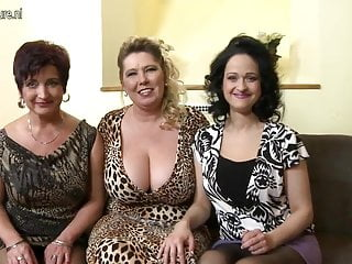 Sillicon breast - Three big breasted moms fucking and sucking in pov style
