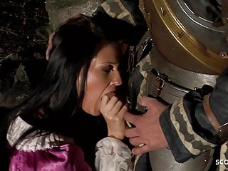 Age of empires iii porn Hot teen maid jenny deep anal at middle ages porn parody