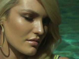 Teen vogue it girl Candice swanepoel - vogue photoshoot, behind the scenes