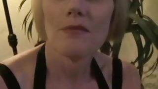 GILF Strokes And Sucks Cock