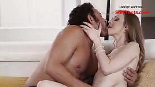 Frustrated MILF Fucks Her Husbands Best Friend