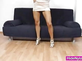 Teen layered hair looks Super blond-haired jenna good-looking extreme nylon fetish
