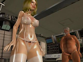 Interactive sex with sacha grey Fembot 3000 fully interactive sex doll