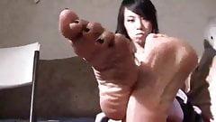 Asian soles tease U part 2