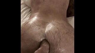 Inside a hot, hairy ass