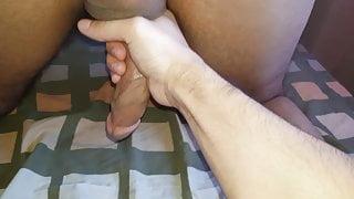 Arab Bubble butt ass massaged