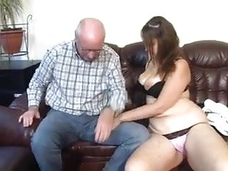 Older man fucker - Chubby german girl fucked by older man