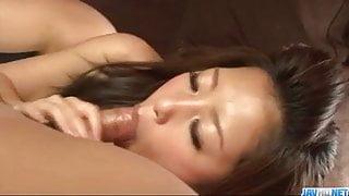 Perfect porn show along busty doll Satomi Suzuki