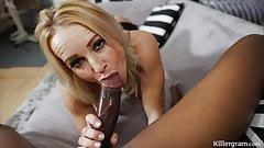 Cheating Milf Wife Tara Spades is addicted to big black cock
