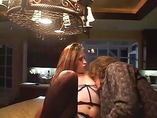 Hardcore bondage and s m Sm bitch gets fucked out on kitchen counter
