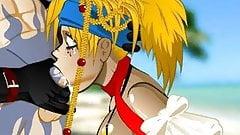 Rikku super blowjob Hentai sex game (Final Fantasy)