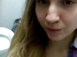 Youtube bikini girls Youtuber lexi p teasing in a public bathroom
