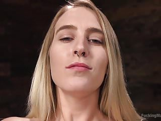 Sex positive stores Blonde girl next store cadence lux squirts from fucking mach