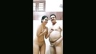 Unnao CO Sex MMS, Bathing with female police officer