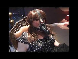 Femdom tied cock Angelica tied and cock gagged