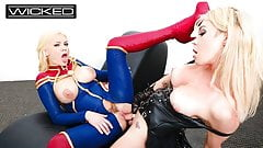 Captain Marvel Fucked By Supreme Intelligence Aubrey Kate