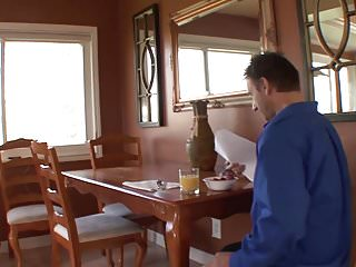Coffee brown hardcore Stepdad fucks his stepdaughter while mom gone