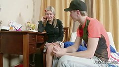 Petite stepsister get her First Fuck by own Step-brother