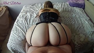 BEST POV of your life with this French PAWG with an incredible ass!