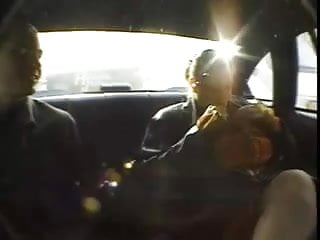 Naked in taxi Big titted redhead picked up in taxi and fucked