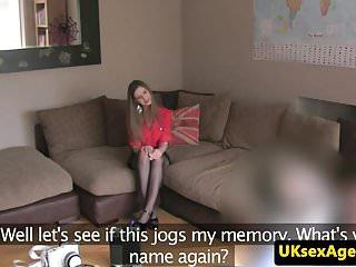 Uk amateur porn tubes Busty uk amateur deep throats agents cock