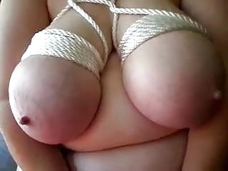 Huge asian tis - Funbags tied up huge knockers play