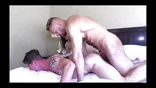 Robbie Valentine's porn debut bottoming for Bryce Beckett