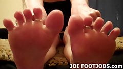 Do you want me to wiggle my toes for you while you jerk off