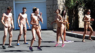 Hot Fuck after Naked Yoga