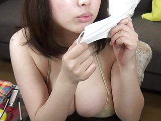 About breast implants Rin aoki big breast talking about something.