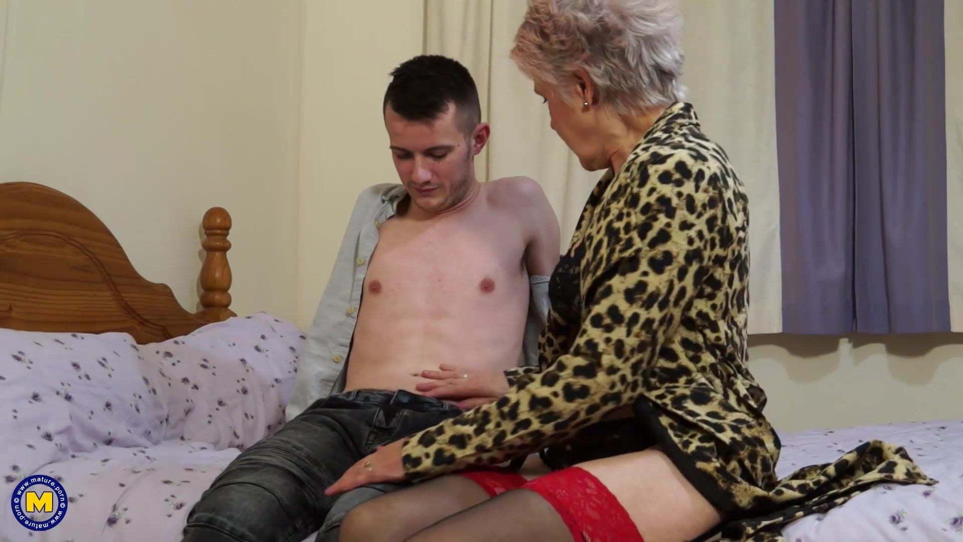 Teen Boy Fuck Old Woman