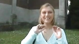 Huge Tits Bitch In The Park B4 Fucking At Home