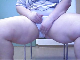 Peeing in the office Office girl masturbates and pees in office