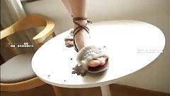 Chinese sandal feeding