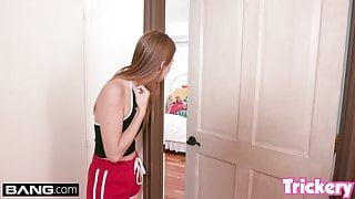 Trickery - Jill Kassidy tricks her step bro into fucking her