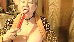 Beautiful Russian Granny Lelaniy - part 6