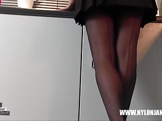 Upskirt panty fetish - Look upskirt milf nylon jane watch nylon panties feet legs